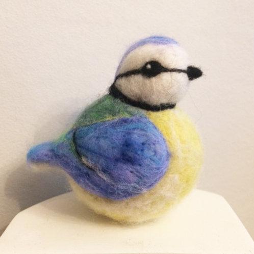 Needle Felting - Colourful Birds