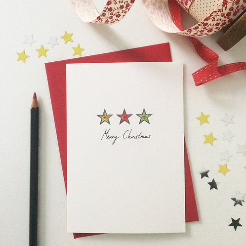 5 Illustrated Christmas Cards