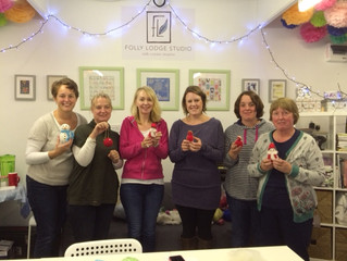 Christmas Needle Felt Workshop