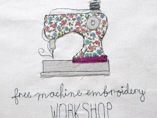 Freehand Machine Embroidery Workshop