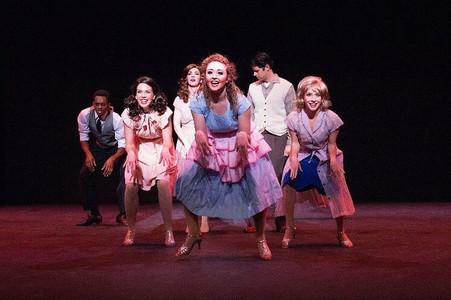 u/s Marilyn/ensemble in Marilyn! A New Musical