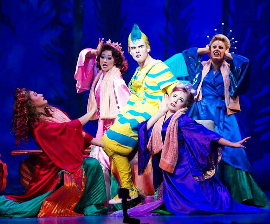 Atina/ensemble in The Little Mermaid (Equity Tour)