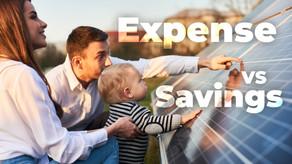 Are solar panels worth the expense? Expense Vs. Savings