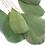 Thumbnail: Long Gold Tassel Feather Ear Cuff
