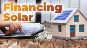 Can I Finance My Solar Roofing System Installation?
