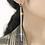 Thumbnail: Dual Purpose Diamond Dangle Earrings + Hairclip Combo