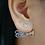 Thumbnail: Custom name studs with Diamonds