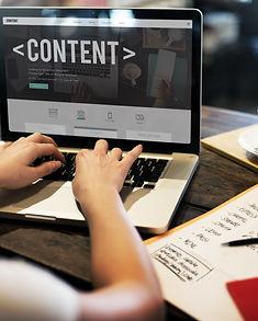 Content Data Blogging Media Publication