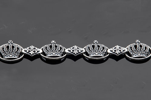 The Abby Crowns Bracelet