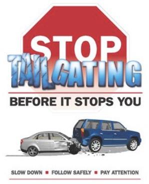 Stop Tailgating Logo
