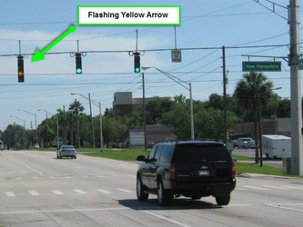 Flashing Yellow Arrows