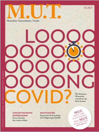 MUT-Magazin Cover Ausgabe März 2021