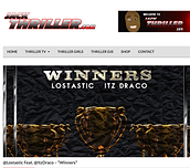 Lostastic's Blog article about his new single called Winners on Jack Thriller.com