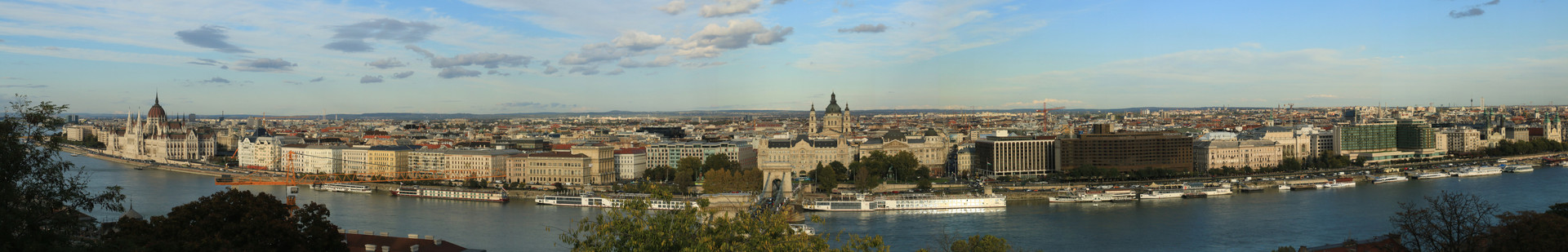 Pest, Hungary from Buda Castle