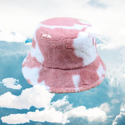 STRAWBERRY MILK BUCKET HAT
