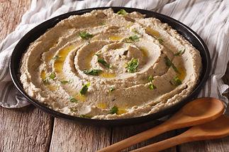 Middle Eastern cuisine: baba ghanoush cl