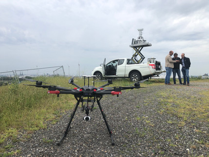 Testing droneradarsystem