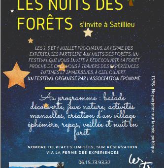 La nuits des forêts s'invite à Satillieu