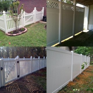 Vinyl Privacy and Picket Fences