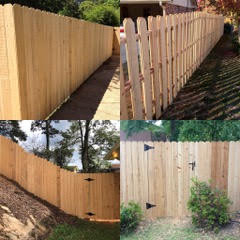 Wooden Privacy & Picket Fences