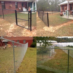 Galvanized and Coated Chain Link Fences