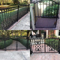 Wrought Iron &Ornamental Steel Fences & Gates