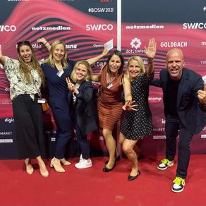 Bronze am Best of Swiss Web Award mit Emmi Digital Website Harmonisation