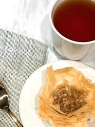 Hot Tea and Baklava from ATWB