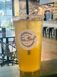 Green Peach Tea with Lemon Sugar