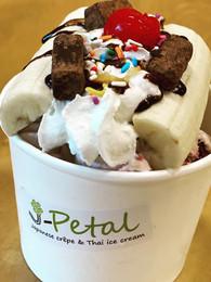 Nana Split Thai Rolled Ice Cream