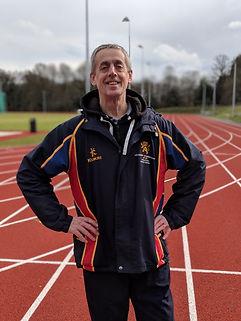 University of Birmingham sprints and hurdles coach Dominic McNeillis