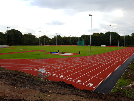 The University of Birmingham Unveils New Athletics Track