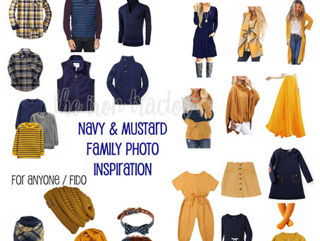 What to Wear for Fall & Winter Family Photos