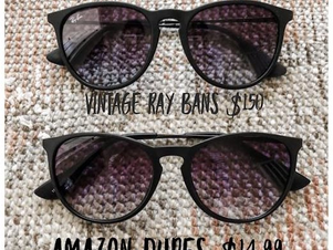 Must Have Designer Sunglass Dupes from Amazon