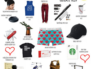 Valentine's Gift Guide for Him: Amazon
