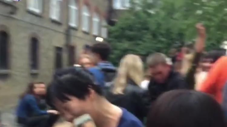 screenshot of the performance video