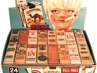 La cigarette en chocolat, friandise disparue