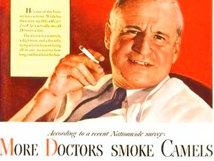 Quand les médecins prescrivaient la cigarette