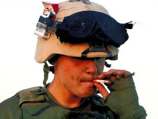 Le tabac dans l'armée
