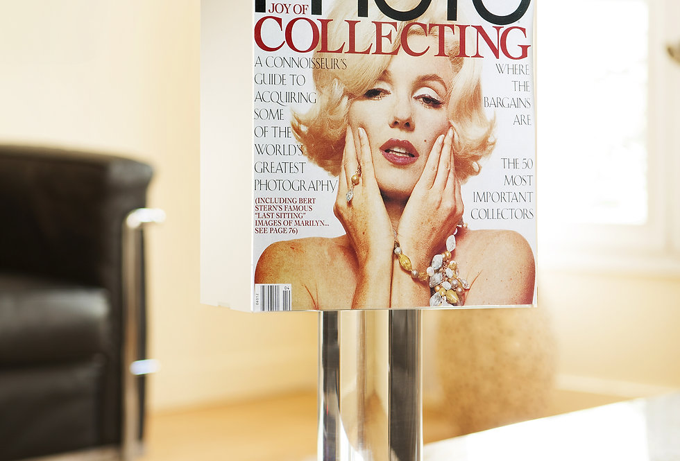 Lamp AMERICAN PHOTO (USA). « The Joy of Collecting »