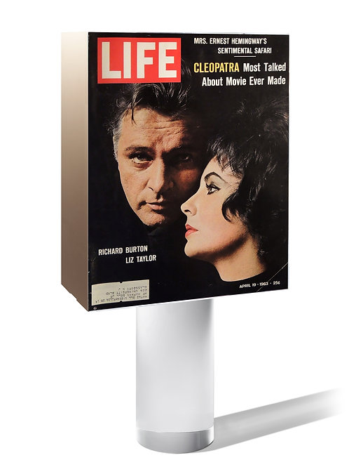 Liz Taylor | LIFE 1963 (USA). « Cleopatra most talked about movie ever made ».