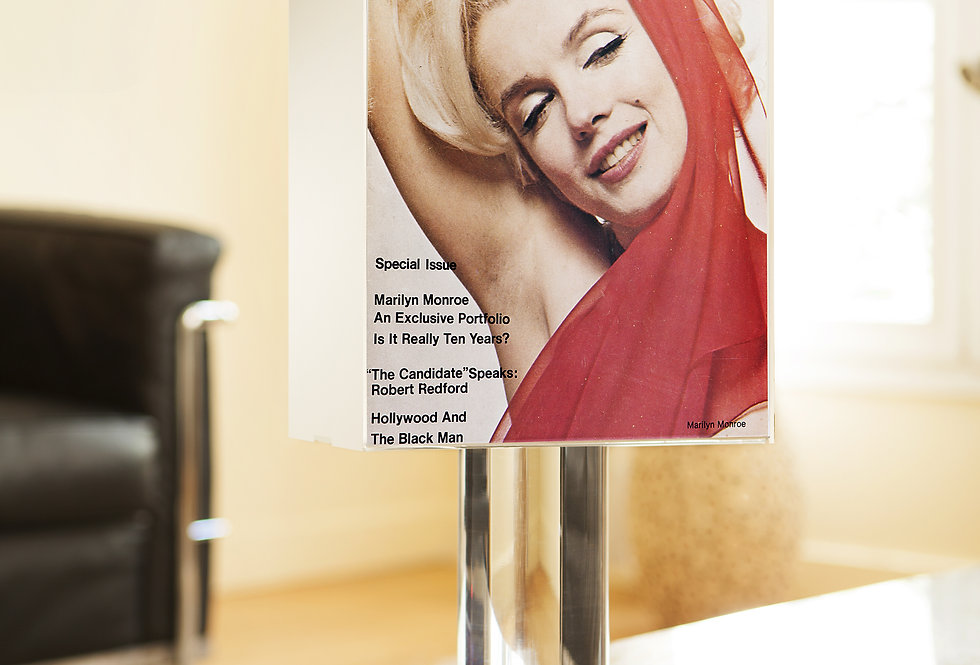 Lamp SHOW (USA). « Marilyn, is it really 10 years? ». 1972