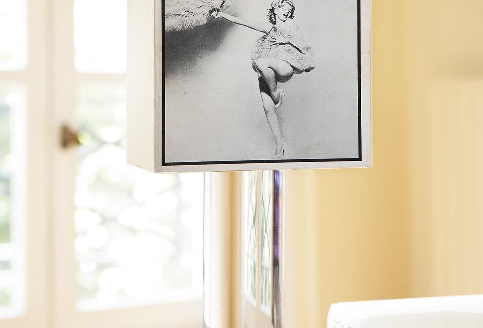 Lamp SKEMA (ITALY). « Bellezza e Mistificazione ». 1972