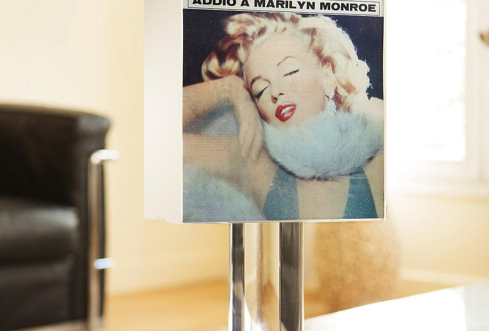 Lamp SETTIMO GIORNO (Italy). « Addio a Marilyn Monroe ». 1962