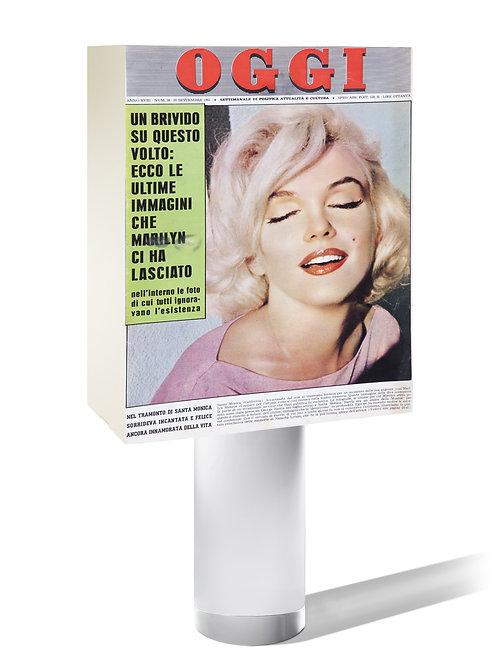 OGGI 1962 (IT). « Ecco le ultime immagini che Marilyn ci ha lasciato ».