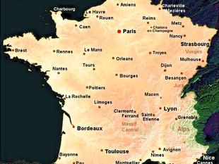 Carte de France des centres de réhabilitations respiratoires