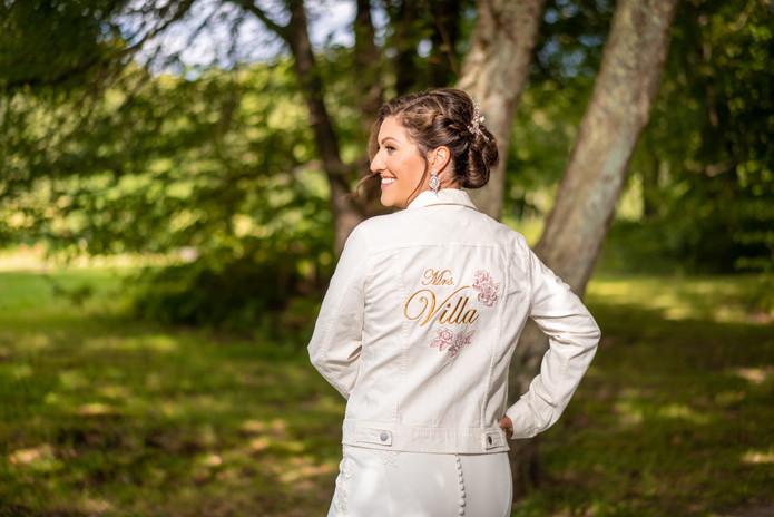 Custom Bridal Denim