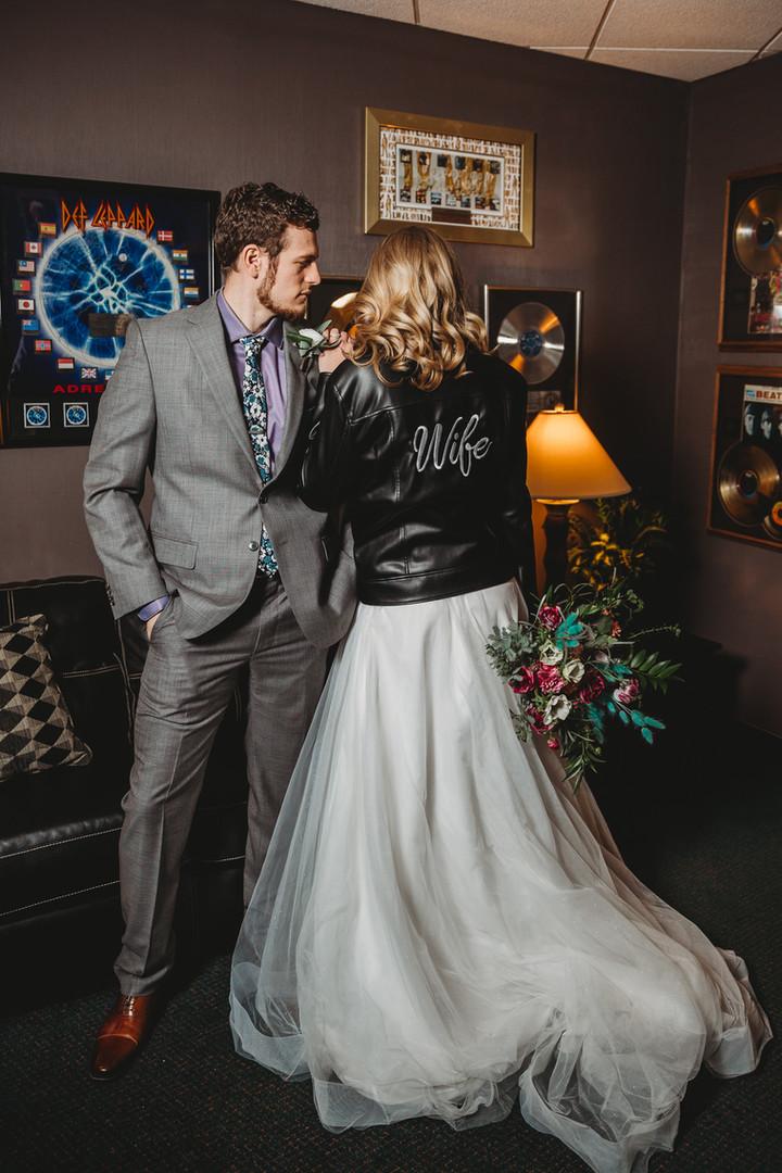 Wifey Leather Jacket