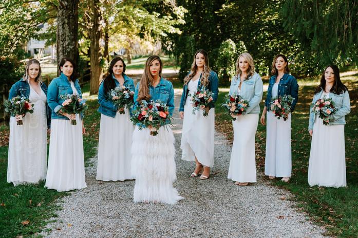Bridal Party Bling Denim