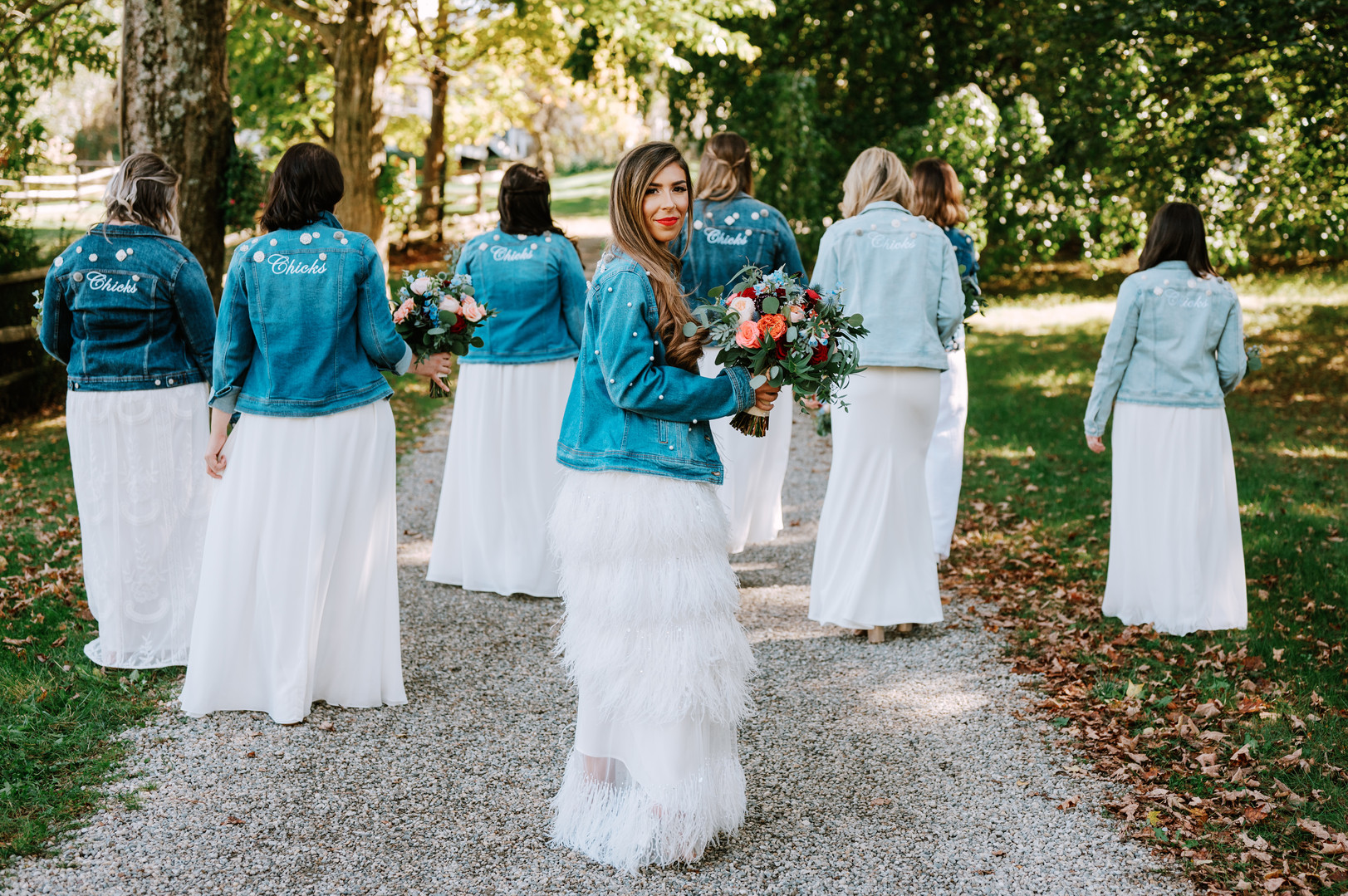 Bridal Party Bling Denim